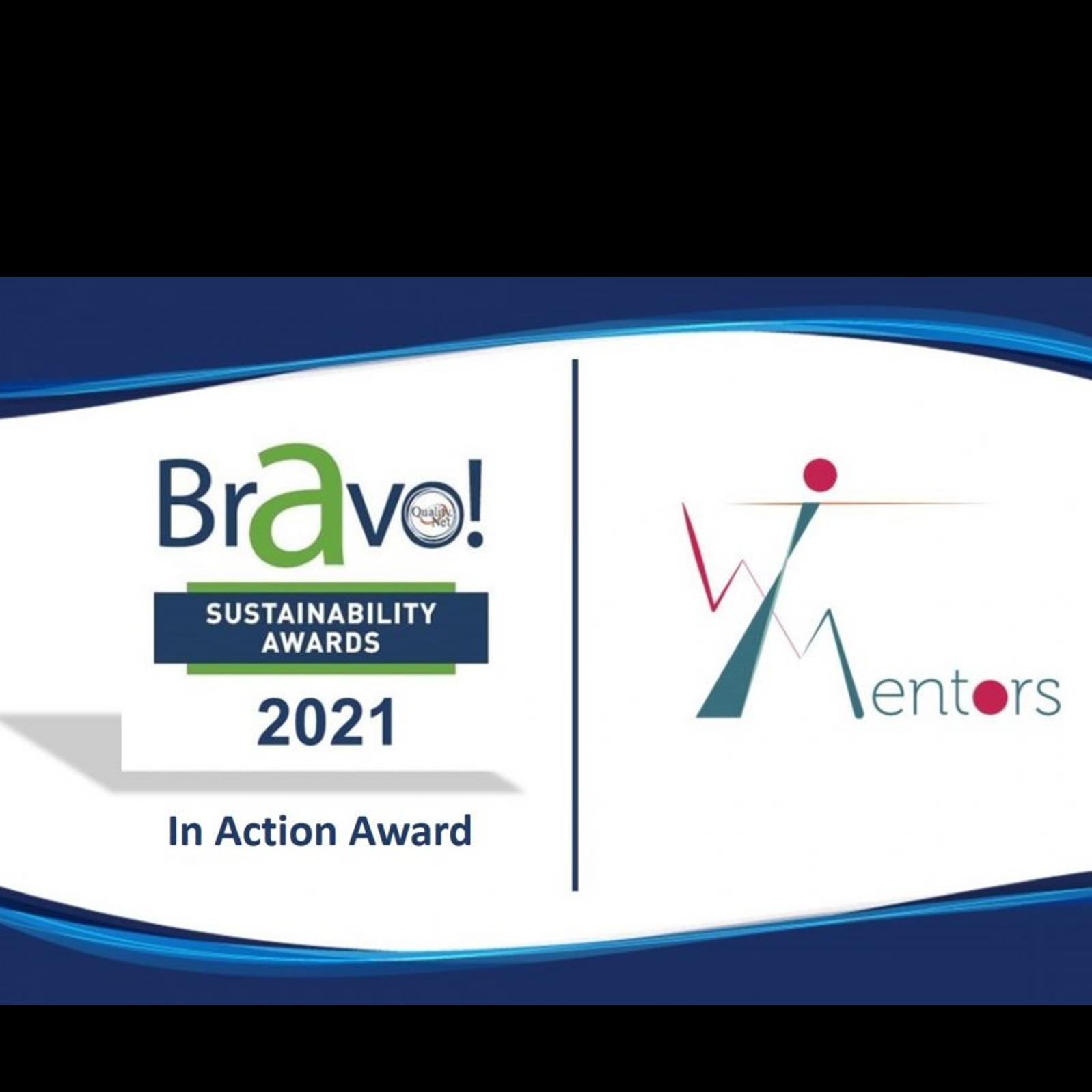 Βραβείο για το WOMENTORS από τα BRAVO SUSTAINABILITY AWARDS logo
